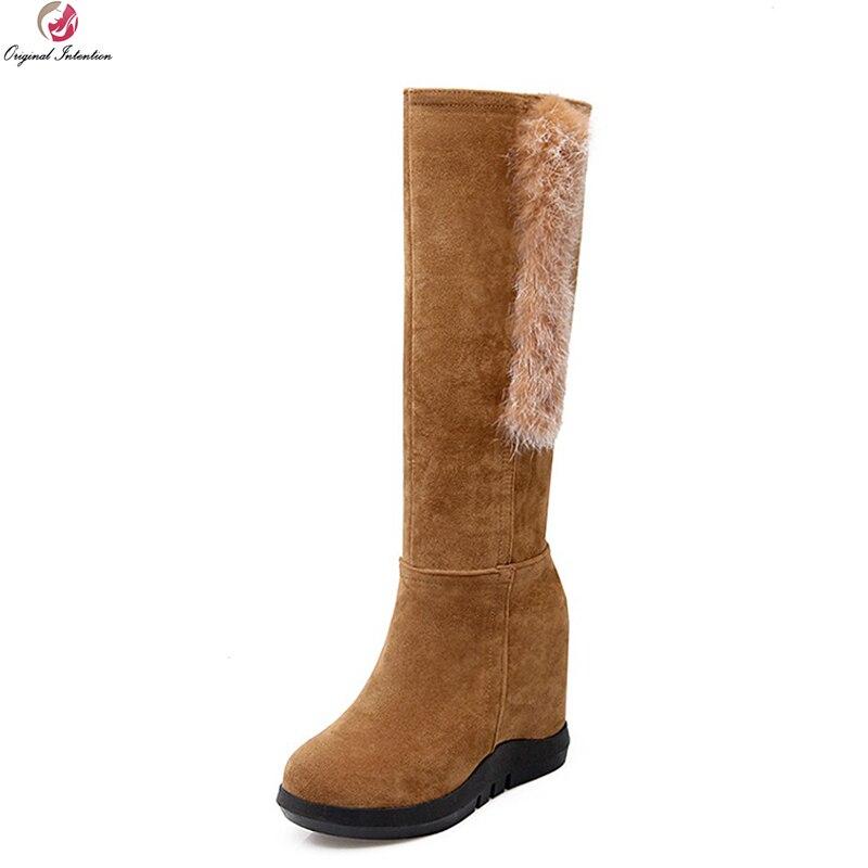 Click here to Buy Now!! L. populaire 3 Couleurs Femmes Genou Haute Bottes  ... 1c736a5c6503