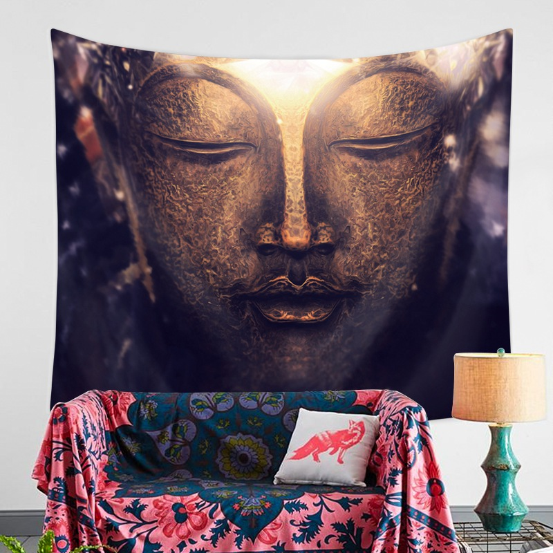 Mandala Wall Hanging Tapestries Indian Hippie Polyester Fabric Bedspread Picnic Bedsheet Blanket Wall Art Buddha Tapestry Decorative Tapestries Aliexpress