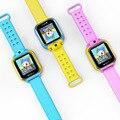 Nova 3G Relógio Inteligente Bebê Garoto Smartwatch GPS WIFI com Câmera Tela sensível ao toque Q90 PK Q50 Chamada SOS Rastreador alarme Anti-Perdido Relógios Inteligentes