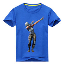 Kids Hot Game Dab T-shirt Costume Boys Summer 3D Print Tees Tops Clothes Children Tshirt Clothing For Baby Cotton T Shirt DX057(China)