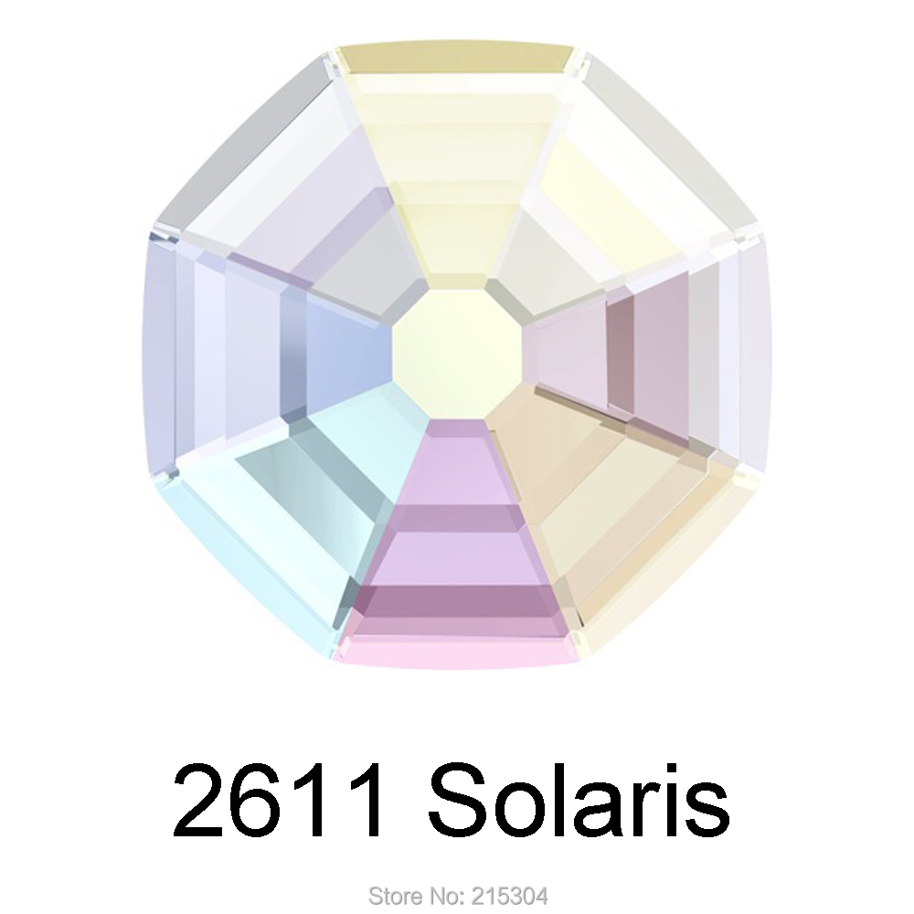Swarovski Elements Solaris (2611) AB Crystal ( No Hotfix or Hotfix ) Iron  On ( 8mm  de4688f8c61e