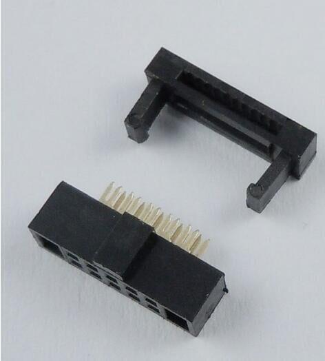 5 Pcs Per Lot 1.27mm Pitch 2x5 Pin 10 Pin IDC FC Female Header Socket Connector