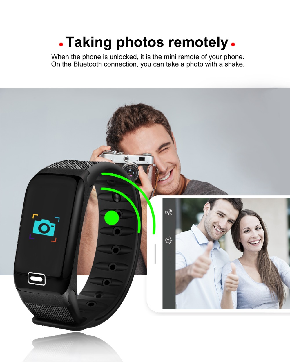 WISHDOIT Smart Sport Watch New Waterproof Watch Blood Pressure Heart Rate Detection Pedometer for ios Android Fitness Watch +Box 15