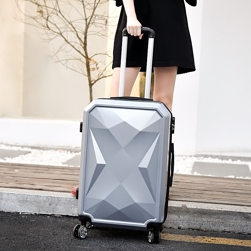 【Sinor】20 inch Waterproof Spinner Luggage Travel Business Large Capacity Suitcase Bag Rolling Wheels Gray Color US Free Shipping - 3