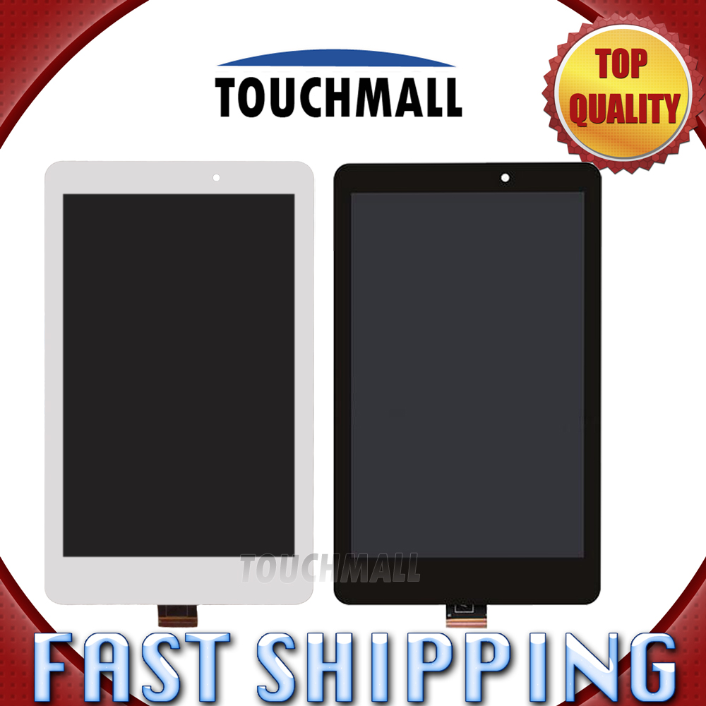 For Acer Iconia Tab 8 A1-840 A1 840 Replacement LCD Display Touch Screen Assembly 8-inch White Black For Tablet new 7 inch touch screen digitizer for for acer iconia tab a110 tablet pc free shipping