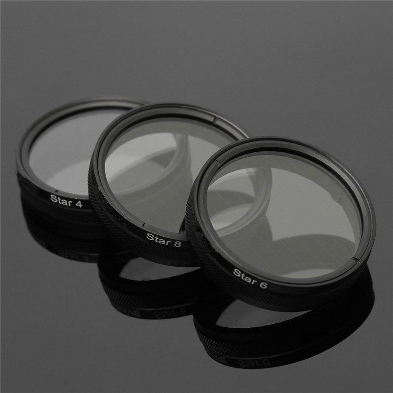 New Advanced Camera Lens Star Filter Night Star 4X 6X 8X For DJI for Phantom 3 Lens accessories