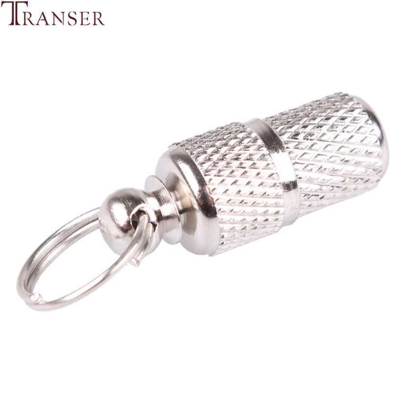 Transer Pet Supply Silver Aluminum Alloy Pet Dog Cat ID Tags Collar Attached Address Label Empty Tube 80103