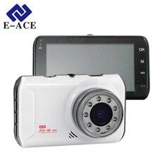 E ACE Car Camera Dvr Night Vision Novatek Video Recorder With 9 IR Lamps Full HD