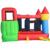Yard envío libre de dhl colorido castillo gorila inflable puente hinchable con tobogán de largo para niños