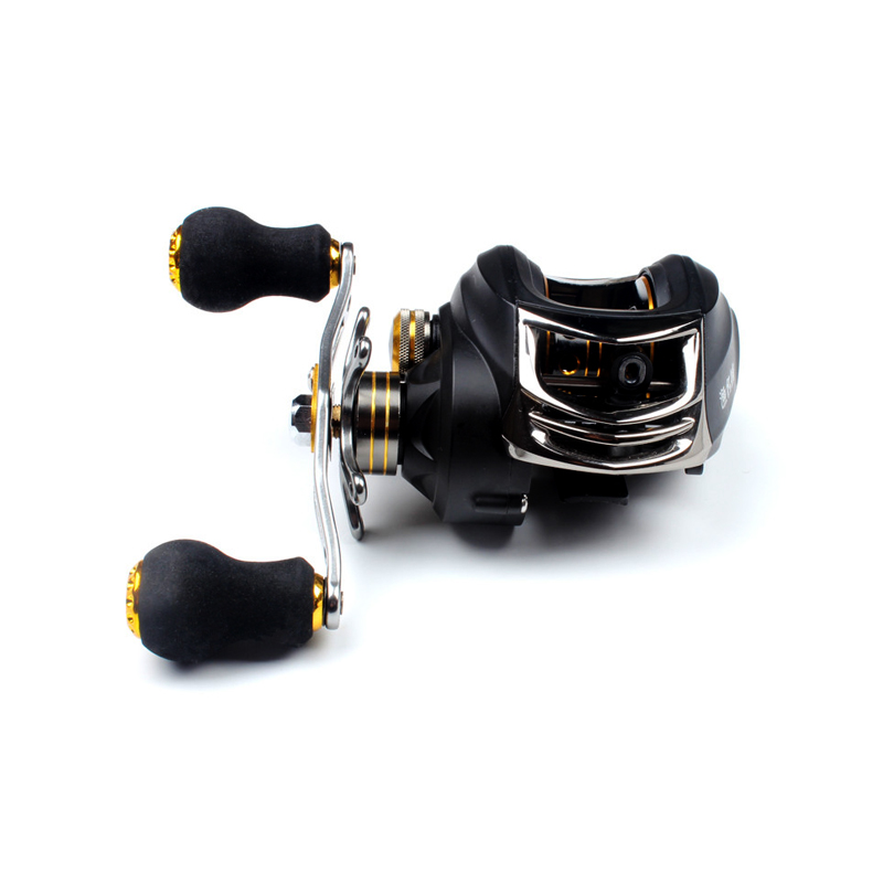 Baitcasting Fishing Reel Ultra-light Carbon Body 215g 17+1 Bearing 6.3:1 Lure Fishing Reel Magnetic Brake Carbon Max Drag 8KG trulinoya full metal body baitcasting reel 7 0 1 10bb carbon fiber double brake bait casting fishing reel max drag 7kg
