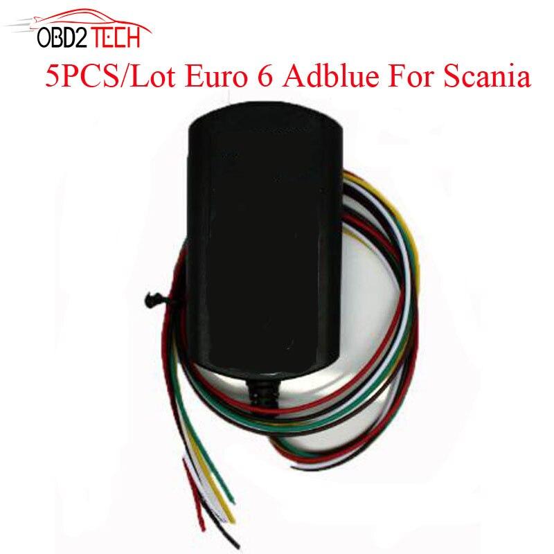 5 pièces beaucoup pour volvo Euro 6 Adblue émulateur pour Scania camion peut faire SCR Support DPF système Adblueobd2 Euro6