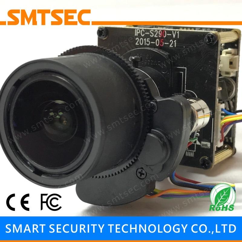 12MP 4K IP Camera Module Sony IMX226 Hi3519V101 8MP UHD PCB Board Camera 3 6 11mm