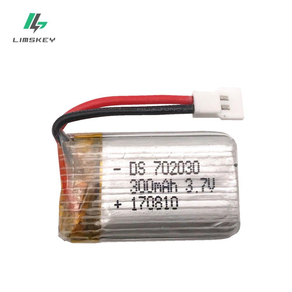 3.7V 300mAH Lipo Battery For E55 FQ777 FQ17W Hubsan H107 Syma X11C Udi U816 U830 RC Helicopter 3.7V 300 MAH 25C XH Plug