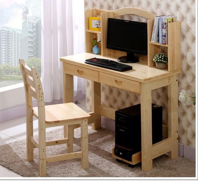 Mesa de escritorio de la computadora de madera Barata para los niños ...