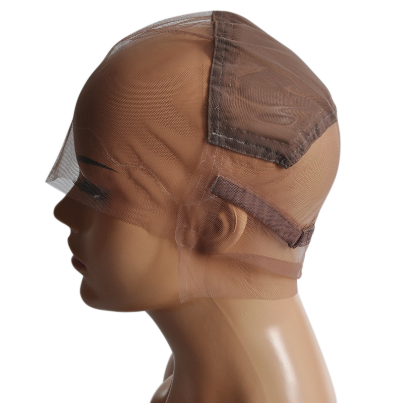 Hair Extensions & Wigs Faithful S/m/l Brown/beige Full Lace Wig Cap For Making Wig Strong Swiss Lace Cap With Guide Line Sewn In For The Hairline Spun Fish Net