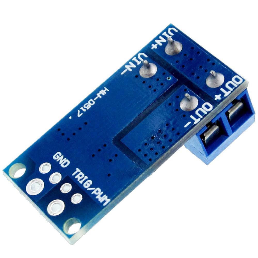 15A 400W MOS FET interruptor Módulo regulador PWM regulador del Panel de Control