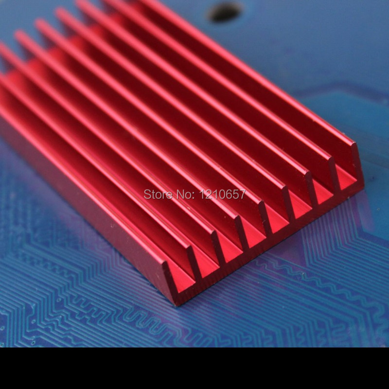 20pieces lot 60x30x8mm Aluminum Radiator Aluminum Heat Sink Electronic Power Amplifier Heat Sink 30 pieces lot vs1053b