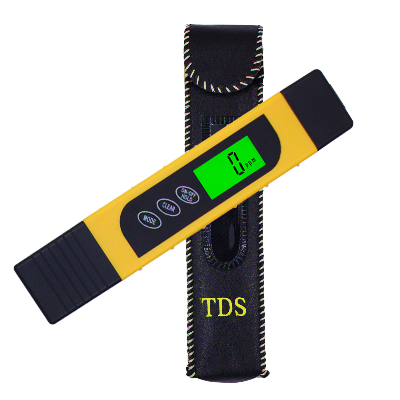 Portable 3 in 1 LCD Digital TDS EC PPM Water Quality Meter Tester Filter Water Quality Purity Pen Test with backlight