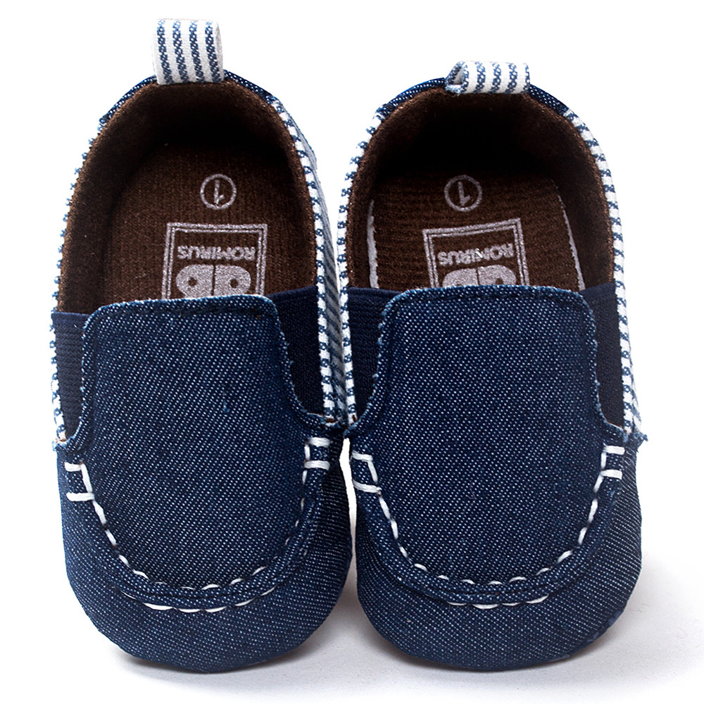 Infant Shoes Soft-Sole Toddler Baby Boy on Slip Shallow Striped