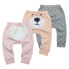Купить с кэшбэком 3Piece/Lot New arrival hot baby harem pants kids autumn cotton casual bottom long pants trousers hight quality pp pant