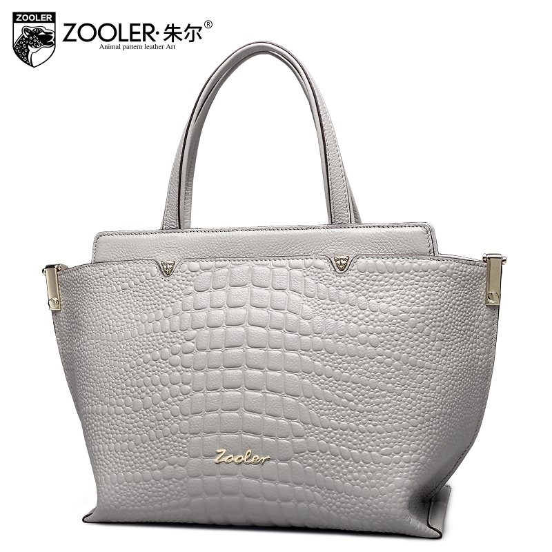 ZOOLER genuine leather bag Bags handbags women famous brand top handle shoulder bag for lady VIP special 0- profit tote#1312 hot sale 2016 france popular top handle bags women shoulder bags famous brand new stone handbags champagne silver hobo bag b075