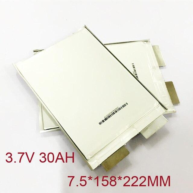 В 1 шт. 3,7 в lipo батарея 30Ah перезаряжаемые литий полимерный элемент для В 12 В 28A батарея пакет e-bike UPS Мощность конвертер HID Солнечный свет