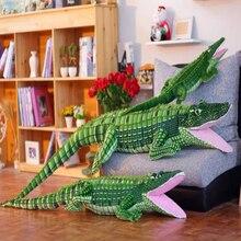 Fancytrader Giant Stuffed Crocodile Plush Toy Soft Big Realike Alligator Animals Doll