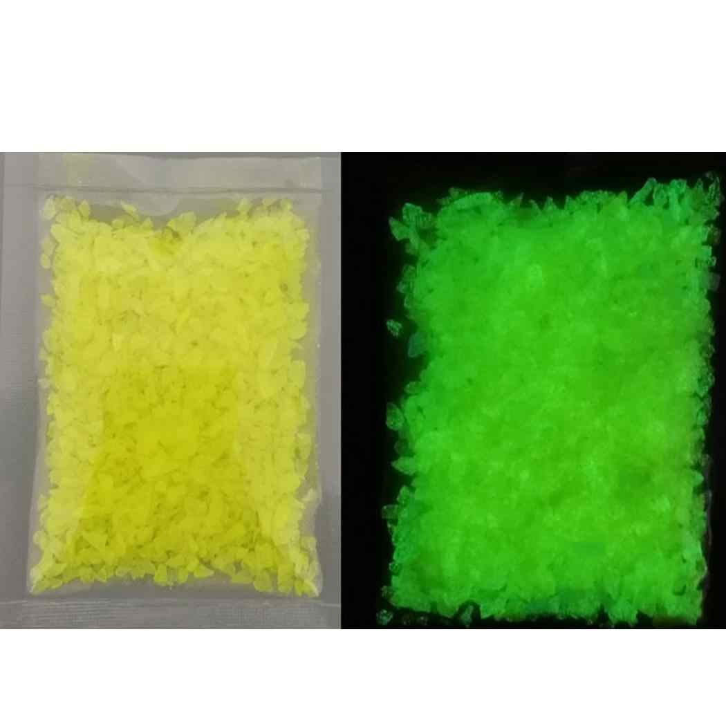 10g Luminous Sand Glow In The Dark Party DIY Bright Paint Star Aquarium Wishing Bottle Fluorescent Particles Toy Fish Tank Decor