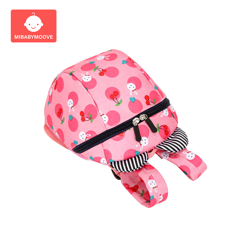 2019 Baby Safety Harness Leashes Backpack Toddler Walking Safety Anti lost Strap Bag Adjustable Cute Cartoon Children Schoolbag in Harnesses Leashes from Mother Kids