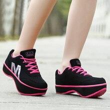VTOTA Women Sneakers Air Mesh Casual Shoes Woman Comfortable