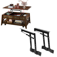 2Pcs Lot Multi Functional Lift Up Top Coffee Table Lifting Frame Mechanism Spring Hinge Furniture Spring