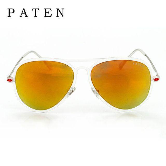 Gafas de sol de Nueva Adulto Piloto Aviador Shades Espejo Marca de Fábrica  Polarizaron 2016 Caliente f20d0ab5c3a0