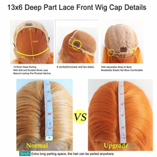 Synthetic Lace Front Wig Straight Real Natural
