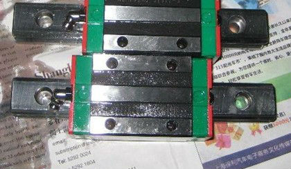 750mm  linear guide rail   HGR20  HIWIN  from  Taiwan hiwin linear guide rail hgr15 from taiwan to 1000mm