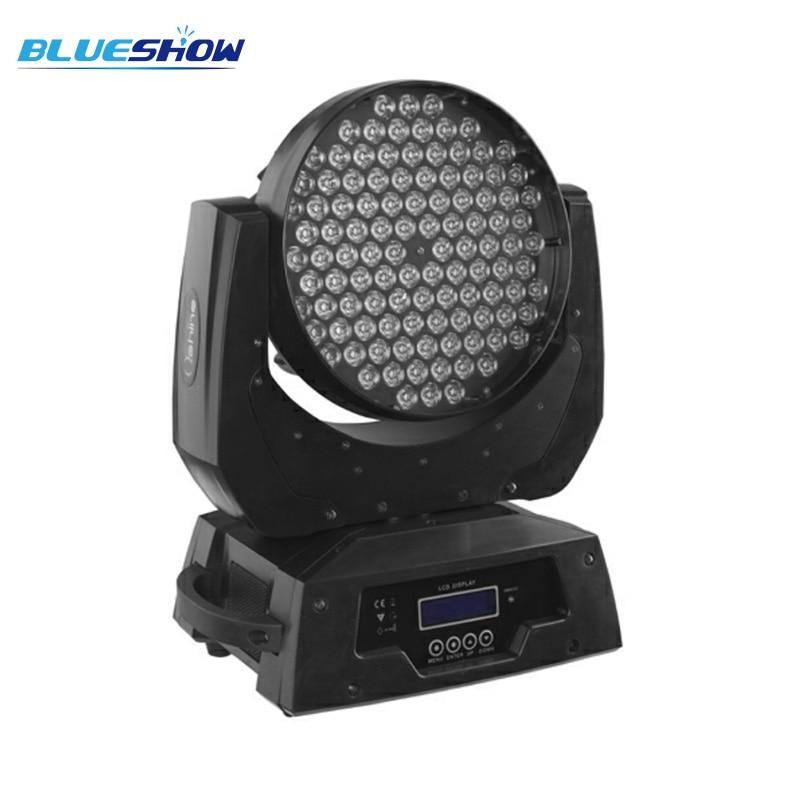 Zoom led tête de lavage mobile lumière 108x3W RGBW barre lumineuse fête ktv discothèque disco Power Corn In Out