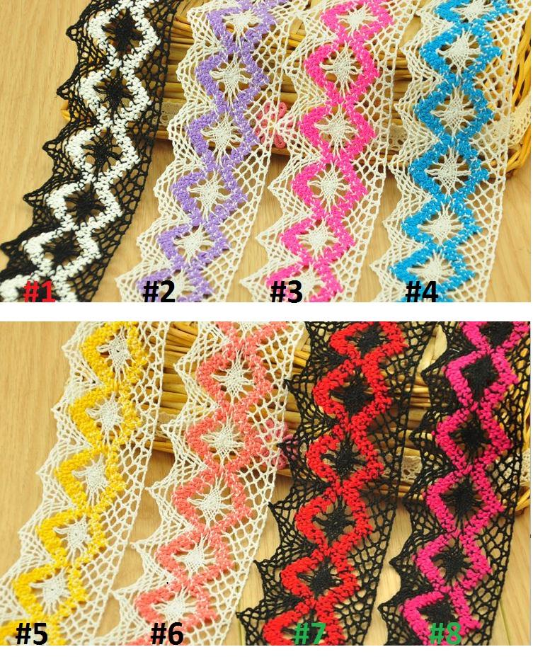adornos de encaje bordado algodn del ajuste del cordn de costura accesorios para cortinas de encaje