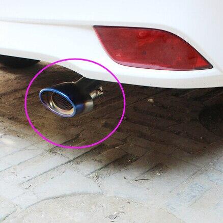 Carro-Styling tubo de Escape Pipes Da Cauda Do Carro Para A BYD todos Modelo S6 S7 S8 M6 G3 G5 G7 E6 F0 F3 F6 L3