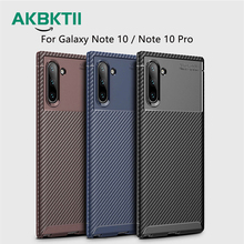 AKBKTII Phone Case For Samsung Galaxy Note 10 Pro Vintage Soft Silicone Cover S9 S10 Lite 9 Capa