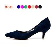 Großhandel 2015 Nette Schuhe Low Heels frauen Mini Größe 33 sommer braut Niedrigen Ferse Schuhe Weiß Schwarz Nude Goldsplitter pumpen