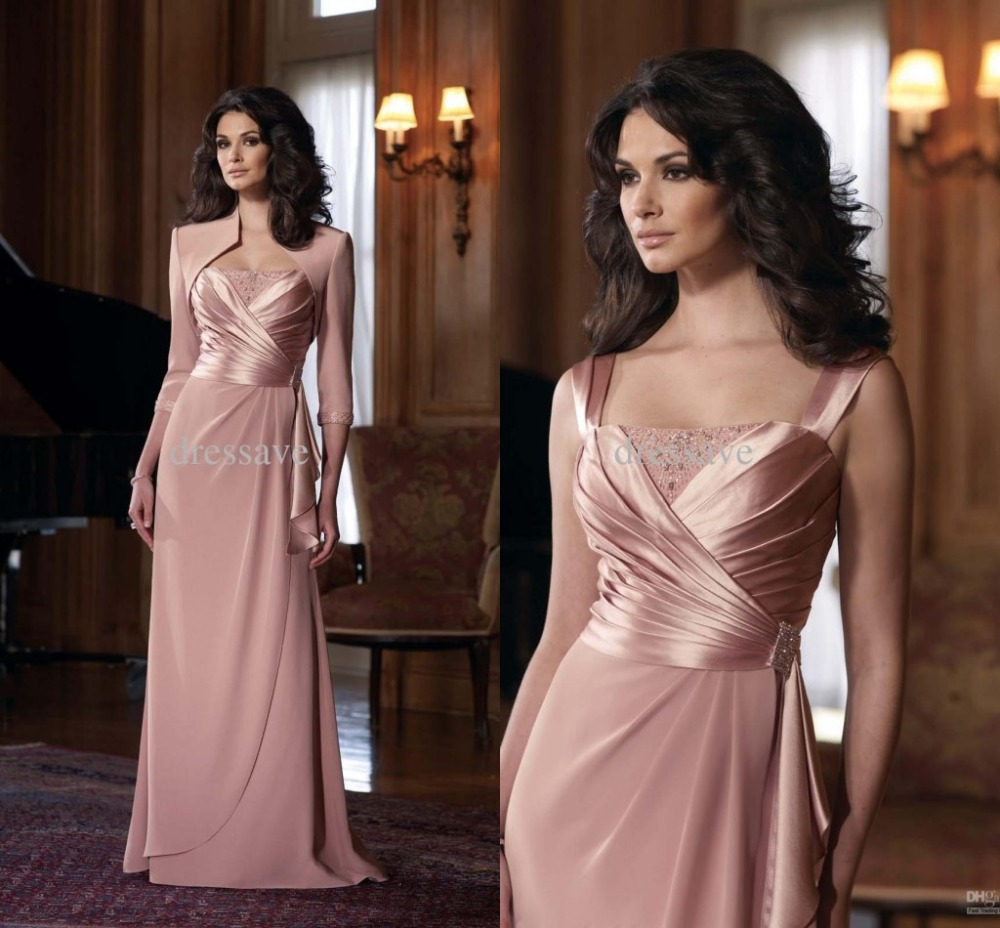 Mother Of The Groom Gowns: 2015 Elegant Floor Length Brides Mother Of The Bride Groom