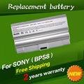 JIGU 6cells 4400mAh Laptop Battery For Sony VGP-BPS8 VGP-BPS8A VAIO VGC-LB15 VGN-FZ11E VGN-FZ140E VGN-FZ15 VGN-FZ15G VGN-FZ17