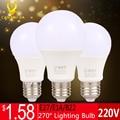 High Power Led Bulb E27 Lampada B22 LED Lamp lights E14 Energy Saving Bulb 3W 5W 7W 9W 12W E27 Led 220V for Home Lighting