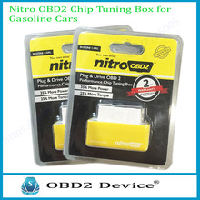 New NitroOBD2 Benzine Cars Plug and Driver More Power/ Torque OBD2 Auto Scanner Nitro OBD2 Yellow Gasoline Blister Package