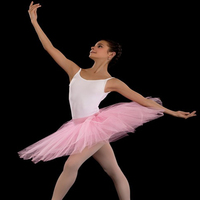 Free Shipping Women Ballet Dance Skirt Professional Adult 7 Layer Sand Ballet Skirt Half Body TUTU