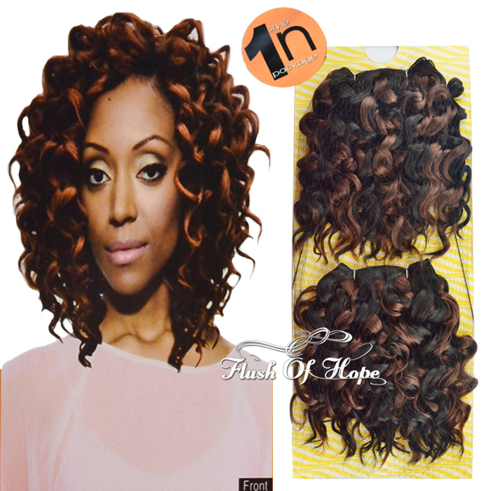 One pack for full head noble gold gp erin synthetic hair weave one pack for full head noble gold gp erin synthetic hair weave weft ombre curly hair extensions 2pcspack 8inch 6packslot on aliexpress alibaba group pmusecretfo Choice Image
