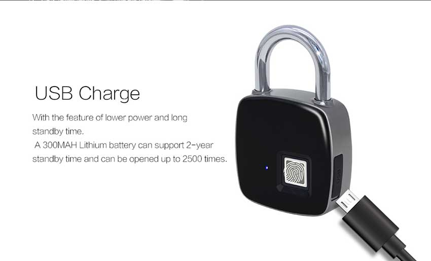 Aimitek P3 Smart Fingerprint Lock-10