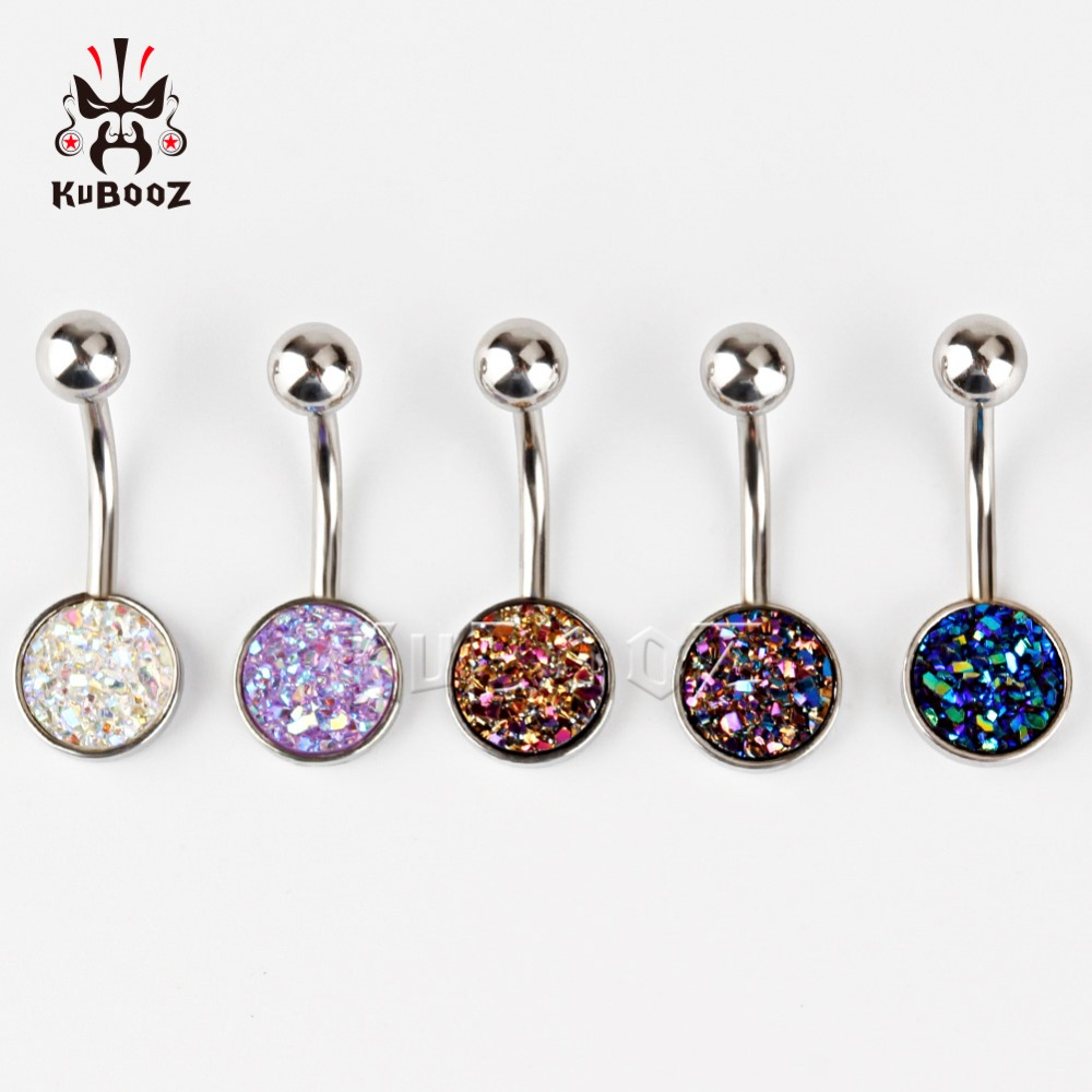 one set stainless steel Navel Piercing Silver Belly Button Piercings Navels Rings Sexy Body Jewelry Piercings mix 4 colors glow in dark plastic navel belly body piercing bars rings multicolored 7 pcs