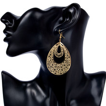 SHUANGR Punk Women Waterdrop long Earring Lady Girl Dangle Earrings Charm Jewelry New Year Gift 2 Colors brinco
