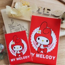 100pcs 7 10+3cm OPP Red Cute MELODY Biscuits Candy Cookie Snack Baking Bag 995b0fb7ad4e4