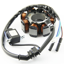 Motorcycle Ignition Magneto Stator Coil for HONDA TRX250 FourTrax 250 X Magneto Engine Stator Generator Coil motorcycle ignition magneto stator coil for kawasaki ex250 ninja 250r 2008 2012 magneto engine stator generator coil accessories